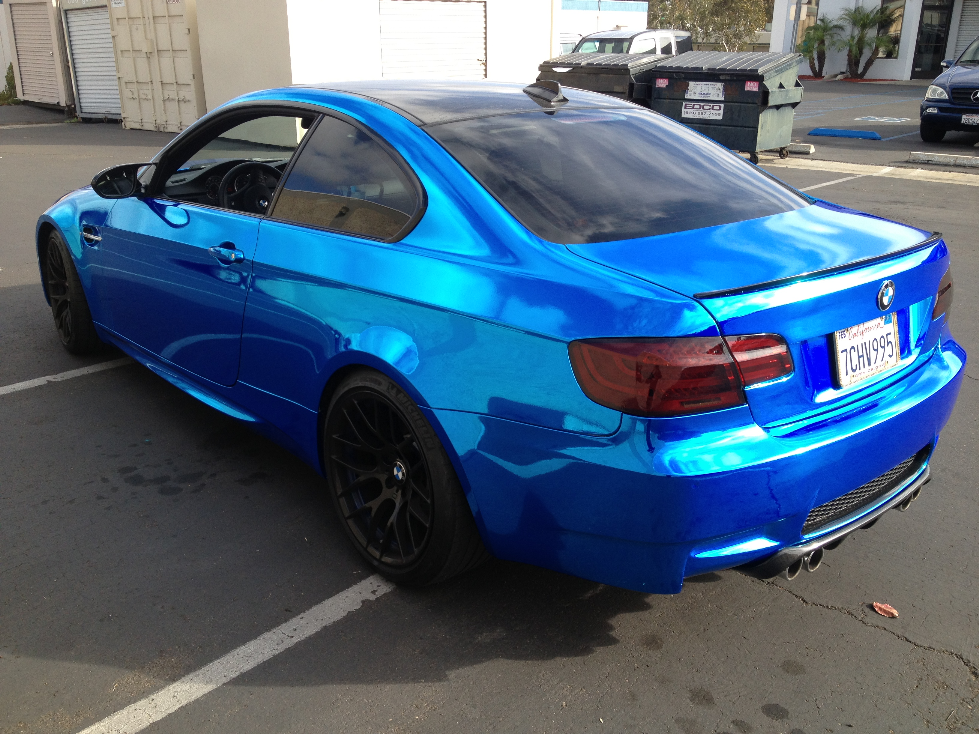Great Back BMW Wrap